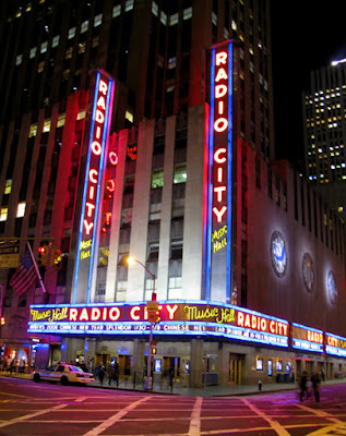 Radio City Music Hall de Nueva York