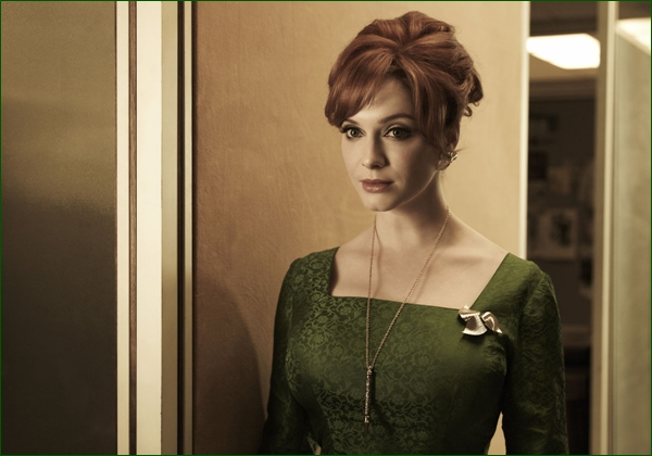 Christina Hendricks Mad Men Emmy awards 2012