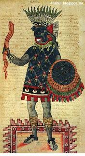 Tlaloc con prenda Prehispánica