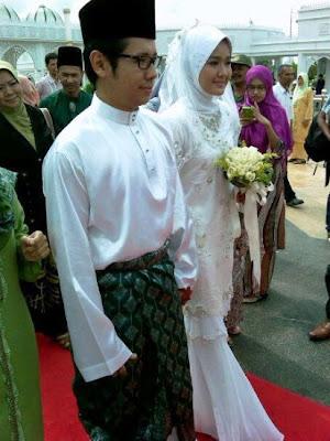 Ally Iskandar Dan Farah Lee Nikah