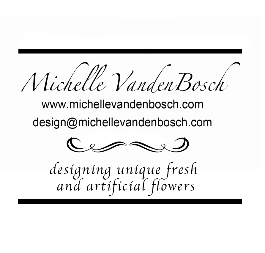 Solace an organized space spotlight on michelle vandenbosch while michelle vandenbosch creates floral masterpieces in both fresh and silk flowers one thing is for certain the pieces she creates are memorable mightylinksfo