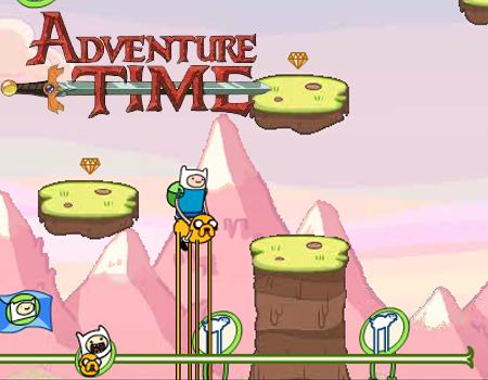 Jogue jogos de Hora de Aventura com Finn & Jake - Missão de Honra 2