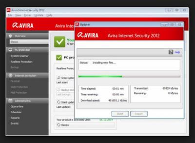 mengupdate antivirus