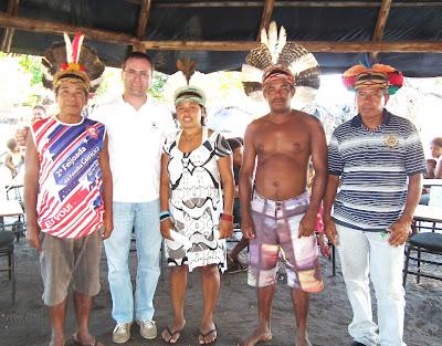 La Torre Resort e lideranças indígenas pataxó debatem turismo no Mutá