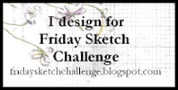 DT member Friday Sketch Challenge