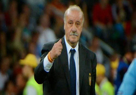 entrenador de futbol español