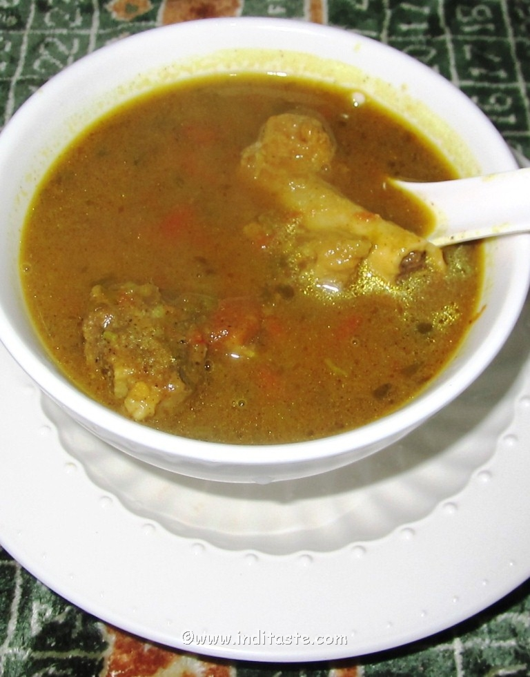 How to make Mutton soup