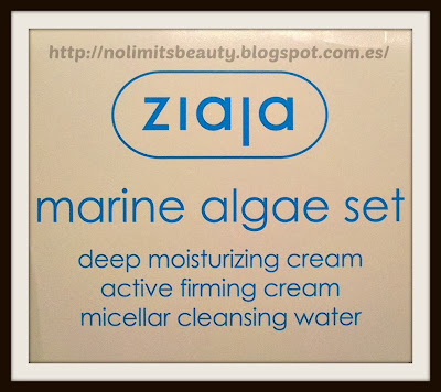 Ziaja - Marine Algae Spa Set