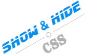 Show and hide content with CSS