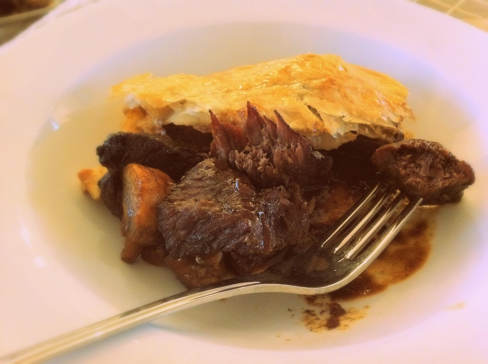 ... of warming and comforting beef guinness and mushroom pie enjoy k x