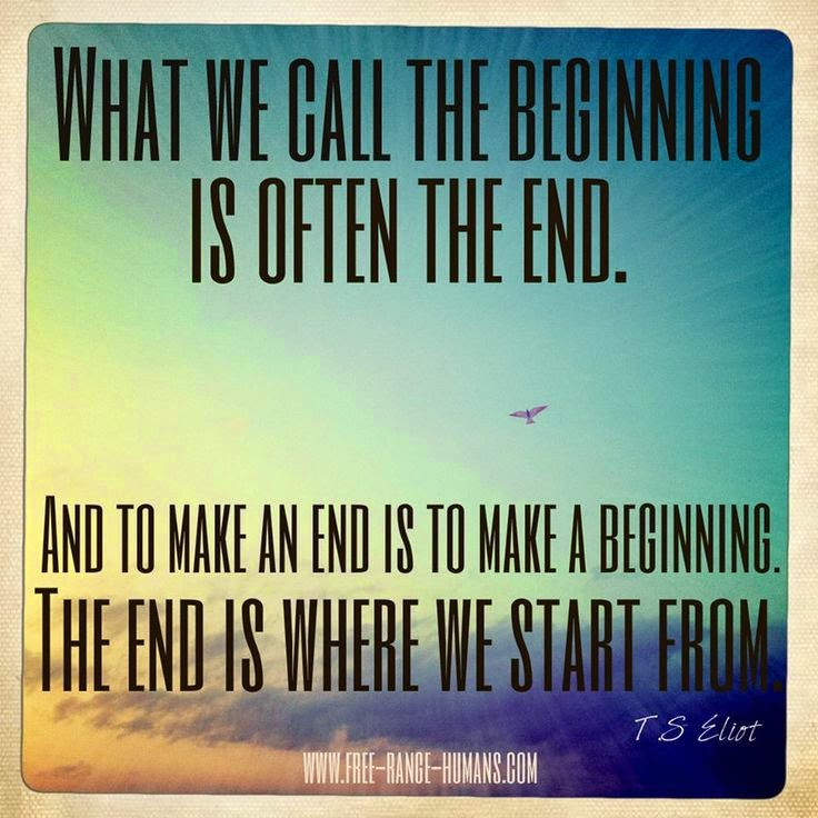 The beginning is often the end