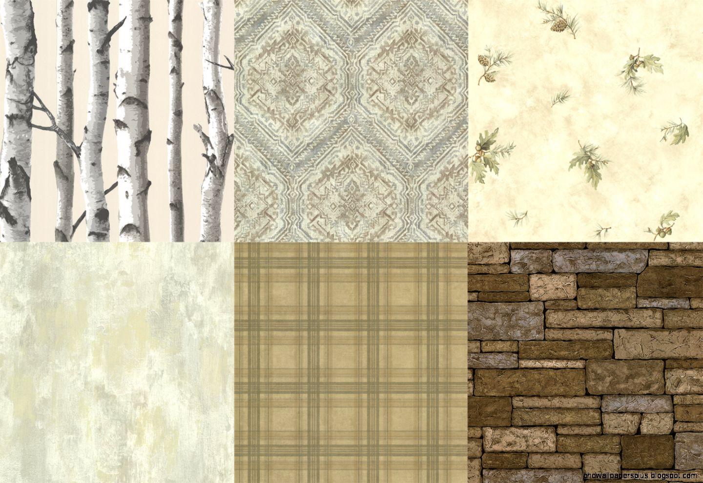 rustic wallpaper  Brewster Wallcovering Blog
