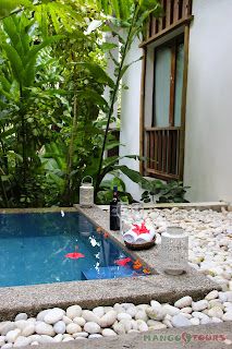 Puerto Galera Buri Resort & Spa Mango Tours Philippines private plunge pool