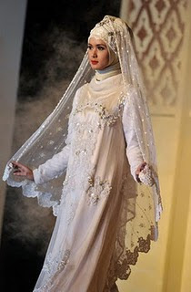 Wedding Fashion: Wedding Dress Muslim