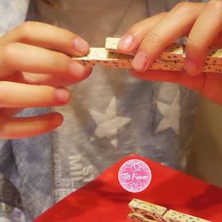 Tía Keko manualidades niños pinzas de ropa