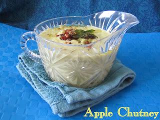 Indian Apple Chutney Recipe