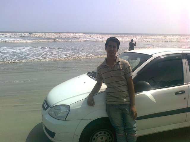 Rahul Bhardwaj on Beach