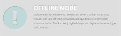 mode offline