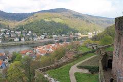 15: 13/4-12 Heidelbergin vanha linna.