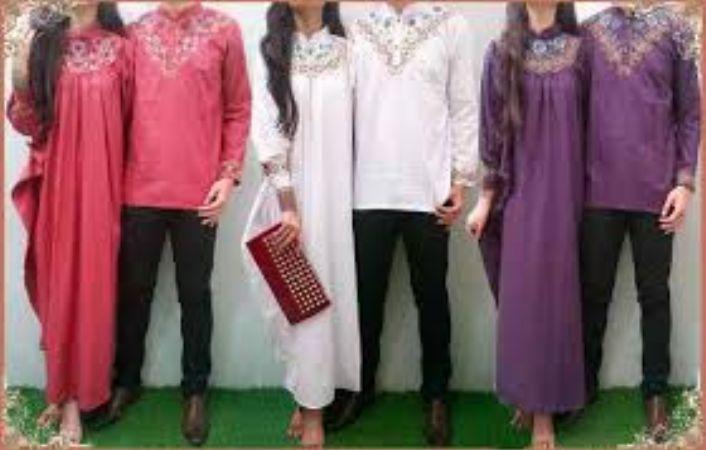 20 Baju Muslim Kaftan Couple Terbaru 2016