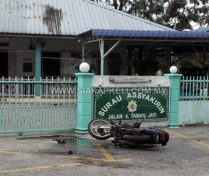 Lelaki cuba bakar Surau dengan bom petrol diberkas polis
