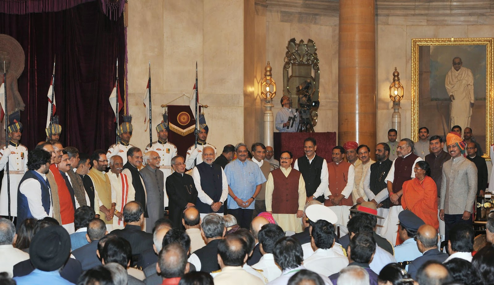 Cabinet Ministers Portfolios