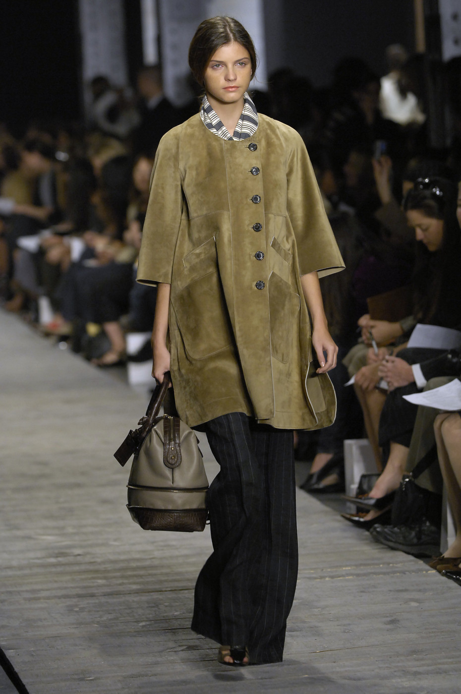 Derek Lam Spring/Summer 2007 collection / timeless chic / investment wardrobe pieces / masculine feminine fashions / sporty chic / via fashioned by love british fashion blog
