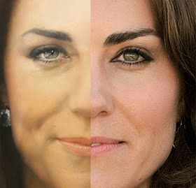 A Close Look at Kate&#39;s Portrait