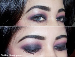 Smokey Plum Pink Eye makeup tutorial