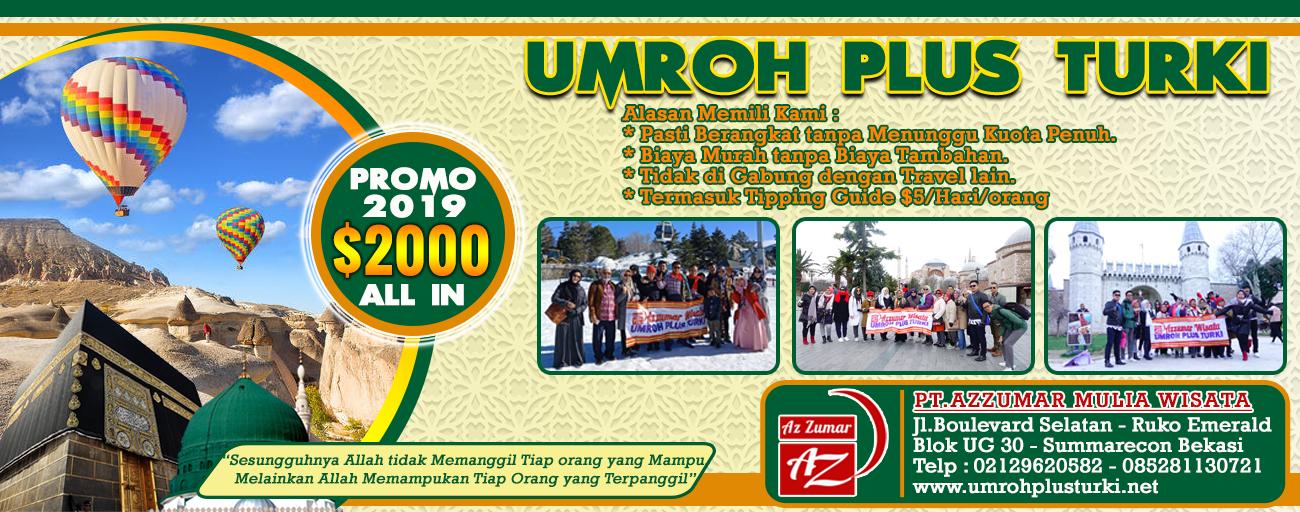 Paket Umroh Plus Turki | Azzumar Wisata 085281130721