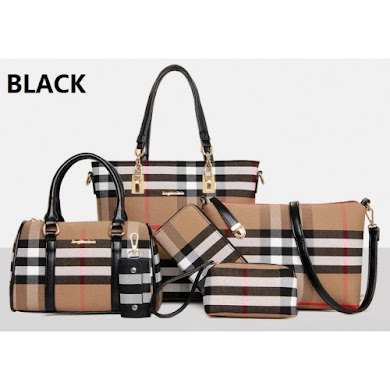 MULTI FUNCTION BAG (6 IN 1 SET) - BLACK