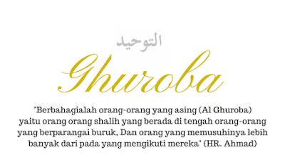 Pengertian dan Penjelasan Al Ghuroba berdasarkan Hadits Nabi