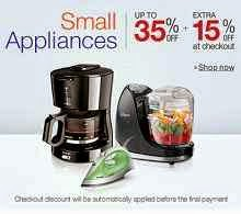 Amazon : Small Appliances 50% OFF & Extra 15% OFF : Buy To Earn