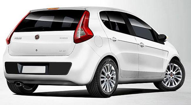 car i Fiat Palio 2014