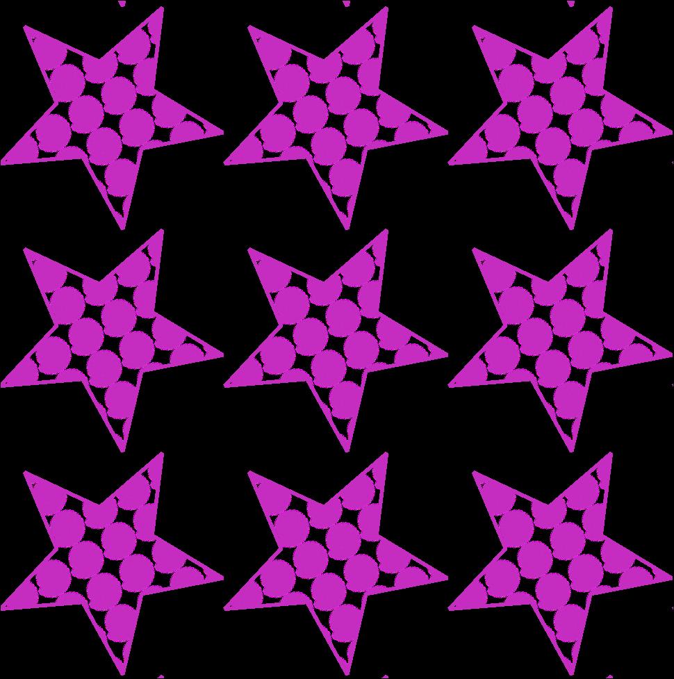 fondo inkscape estrellas con relleno de espirales