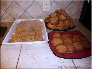 ten dozen peanut butter cookies