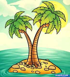 Image of a palm tree from Dragoart.com