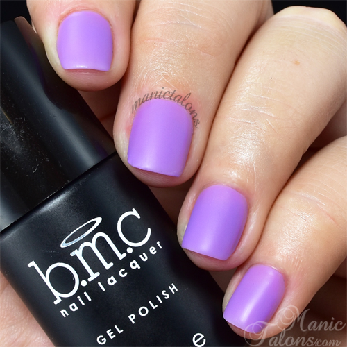 BMC Matte Gel Polish Brunch in Paris Swatch