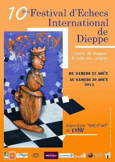 10e Festival d'échecs de Dieppe © Chess & Strategy