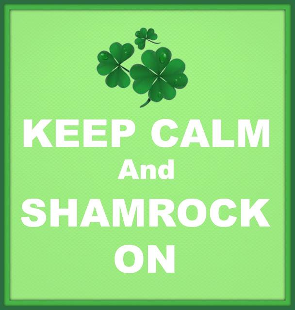 St. Patrick's Day, Printable, Shamrock