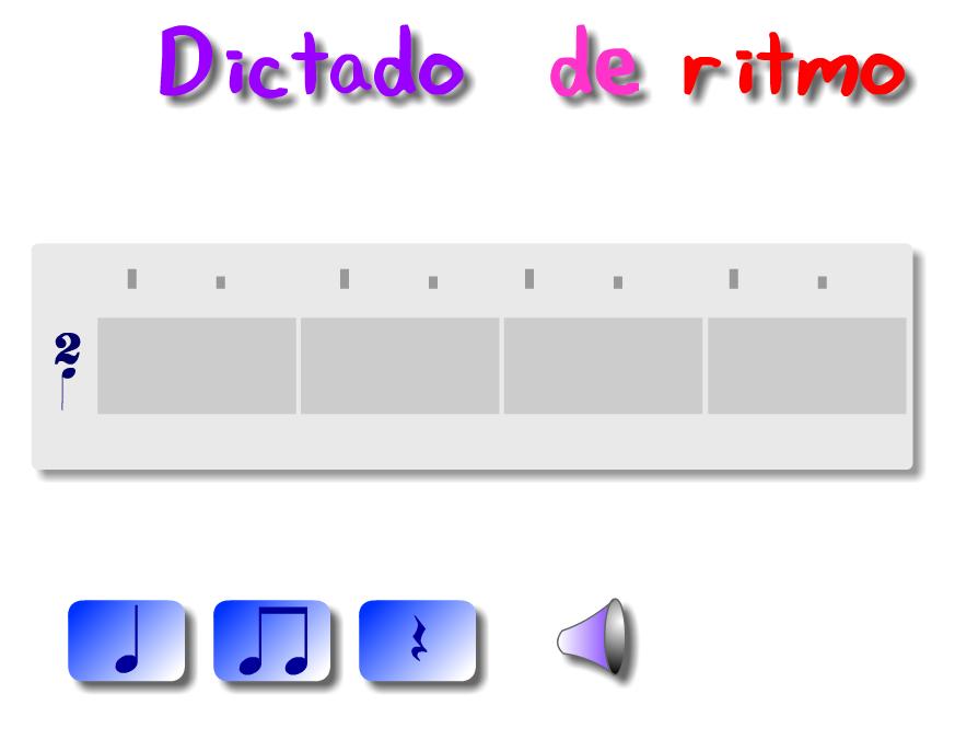 Dictado rítmico