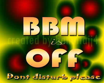Blackberry Messanger is Off, bbm off, bbm is off, blackberry profil picture, bbm off, bandit,ajj4,wallpaper,art, bbm off image, bbm off picture