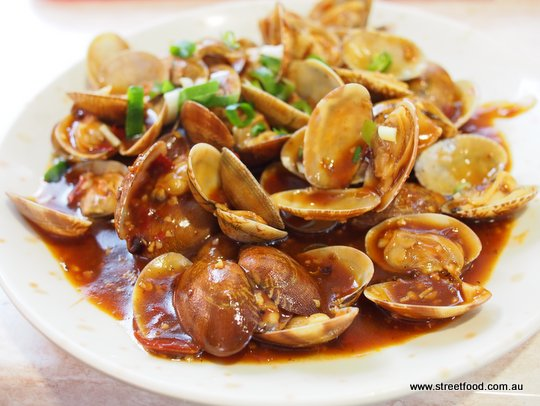 how to make pippies in xo sauce