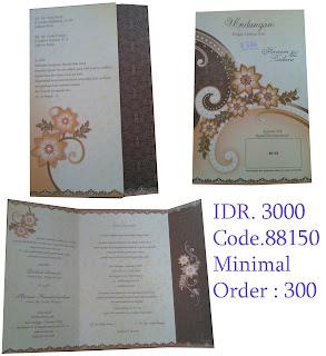 Percetakan undangan pernikahan di bandung