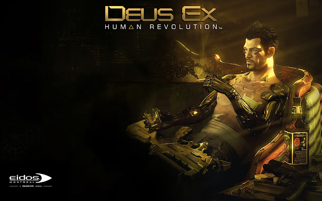 deus ex human revolution directors cut wallpapers - Amazon Deus Ex Human Revolution Director s Cut