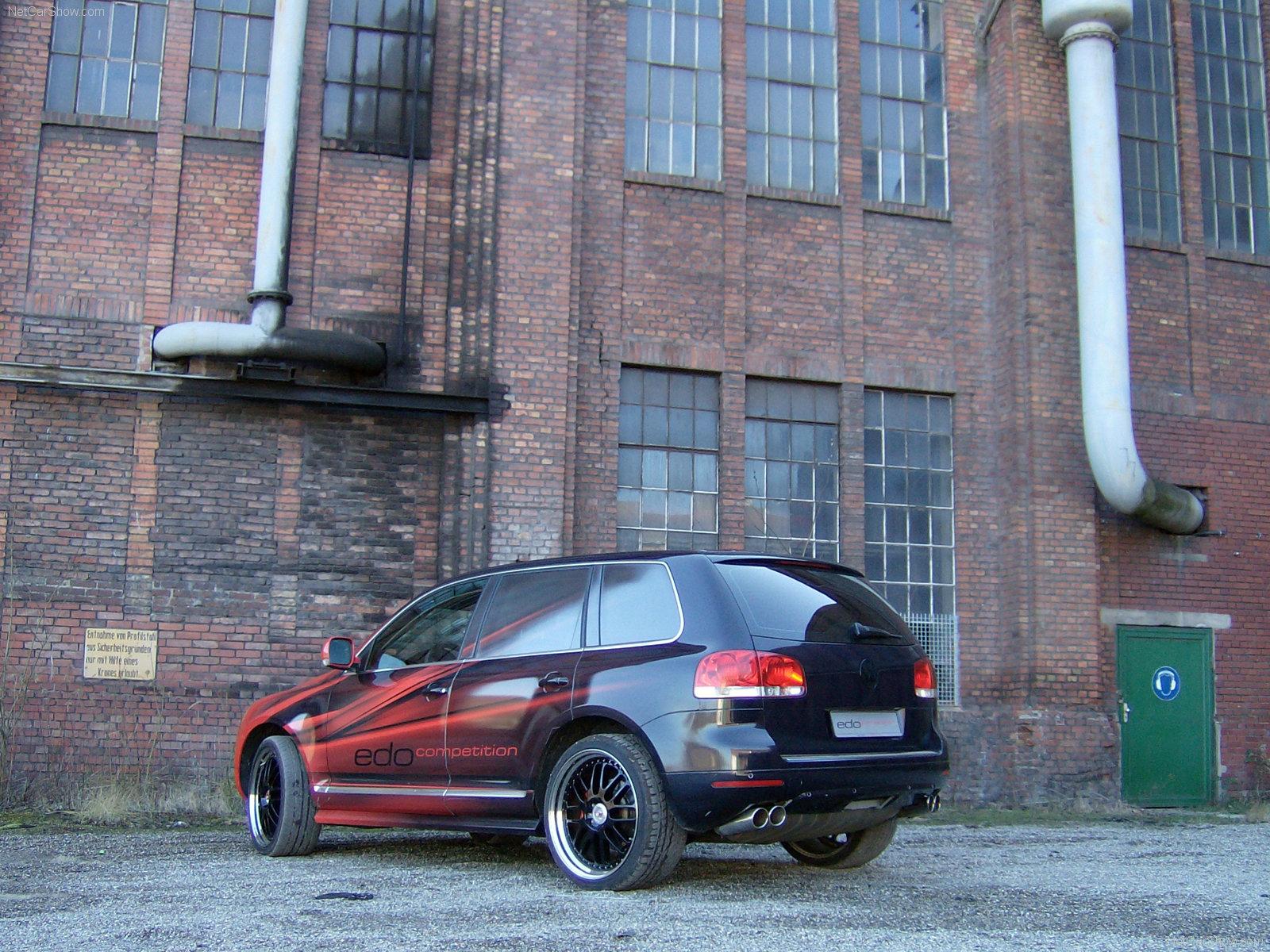 Hình ảnh siêu xe Edo Volkswagen Touareg Red-Black 2006 & nội ngoại thất