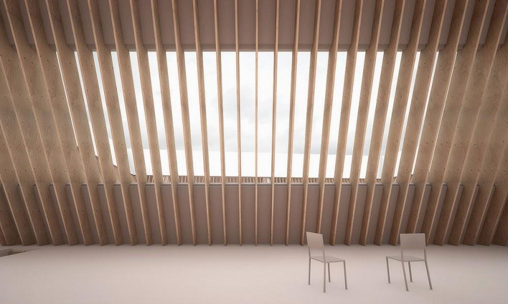 Vivir una cubierta de madera espacios en madera - Vivir en una casa de madera ...
