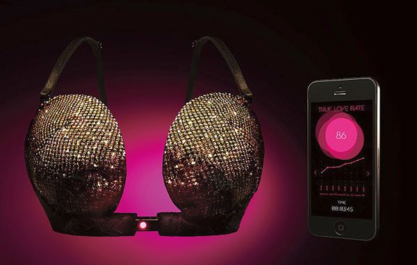 "TRUE LOVE TESTER-A ""SMART BRA"""