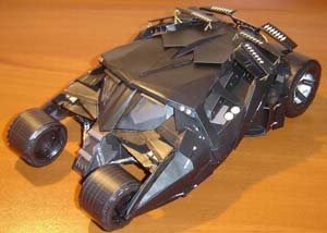 Tumbler Batman Papercraft