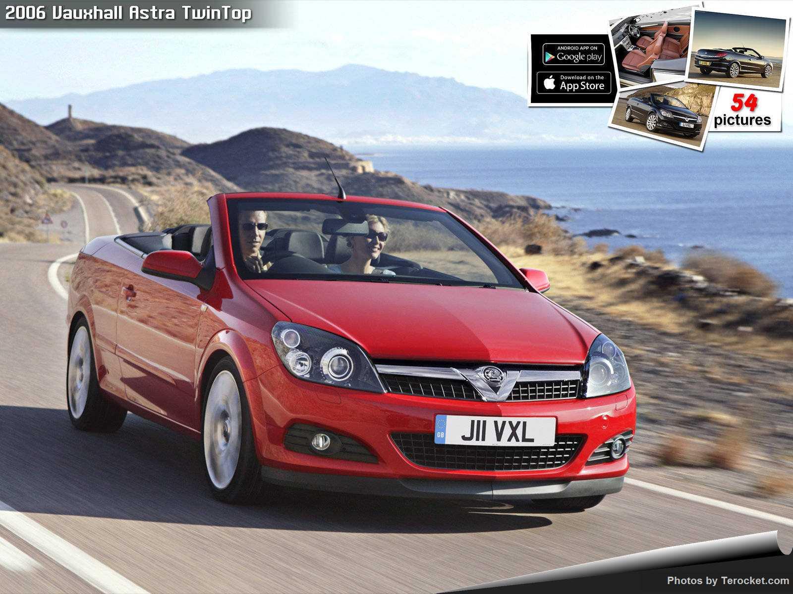 Hình ảnh xe ô tô Vauxhall Astra TwinTop 2006 & nội ngoại thất